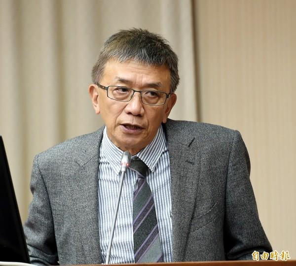 飛安會主委楊宏智。(記者方賓照攝)