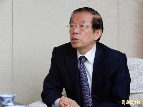 謝長廷強調,他一貫的立場就是譴責暴力,也譴責破壞台日友好的行為,不過藤井的行為不等於日本人及日本政府。(資料照)