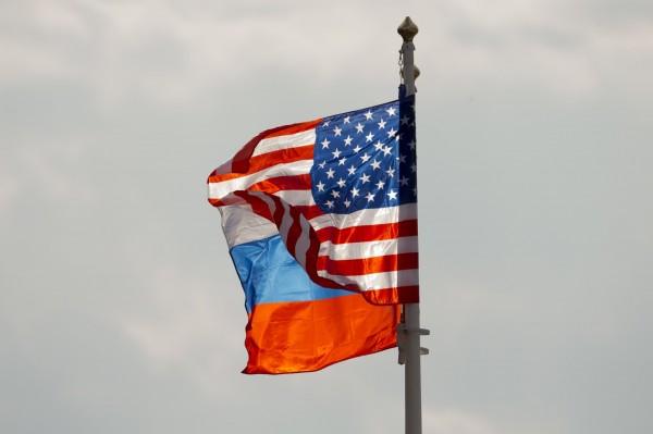 俄國民調顯示,有19%的俄國人認為,明年將爆發大規模的俄美戰爭。(美聯社)
