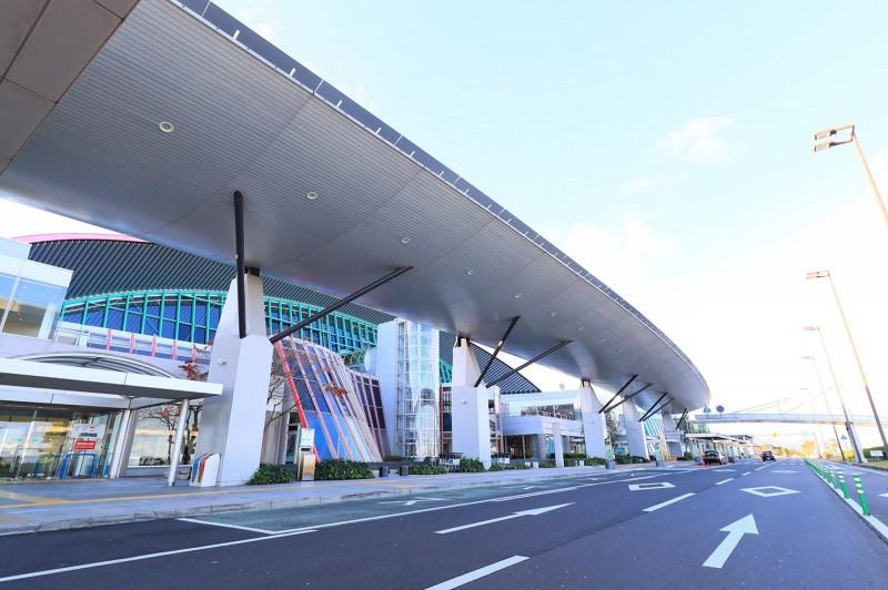 桃園國際機場與日本高松機場(圖)結為友好姊妹機場。(中央社)