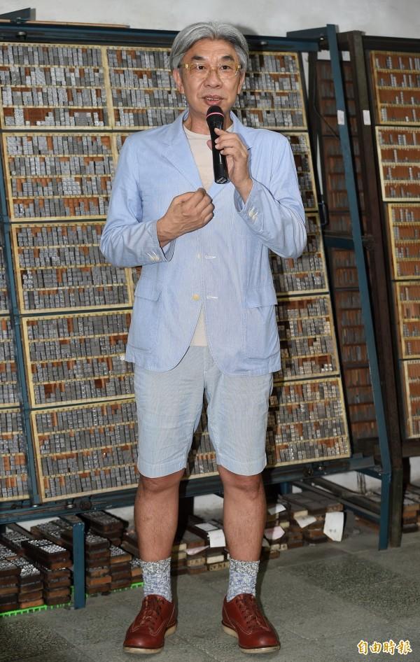 隨同台北市長柯文哲到上海參加雙城論壇的台北文化局長倪重華,在一場演講中,又唱又跳,還帶動唱,要現場來賓一起來唱跳,熱情揚溢,台灣搖滾教父再現,柯文哲卻吐槽「受不了」。(資料照,記者廖振輝攝)