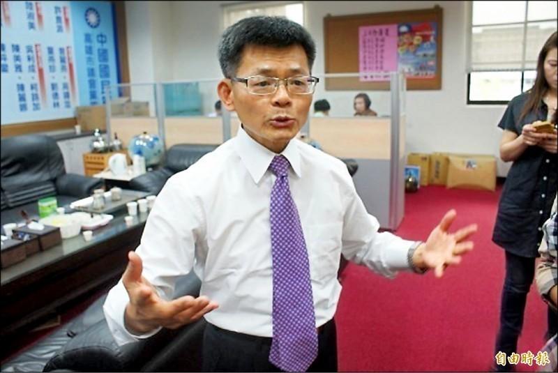 楊秋興表示,只要韓國瑜想選總統,就堅決辭職,不接受慰留也不願見面。(資料照)
