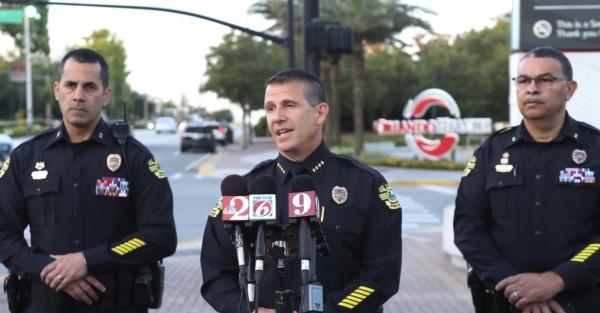 美國奧蘭多本週發生慘絕人寰的兇案,35歲男子林賽(Gary Lindsey Jr.)與警方對峙21小時後自盡,現場赫然還有4名兒童被槍殺喪命。(美聯社)