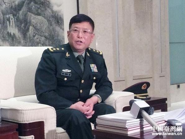 中共解放軍中將、軍事科學院前副院長何雷。(取自中國台灣網)