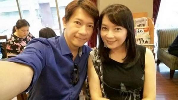徐展元2015年向谷懷萱告白成功交往。(圖片取自谷懷萱臉書)