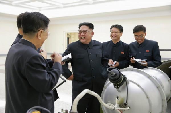 北韓昨天宣布成功進行微型化氫彈試爆。(歐新社)