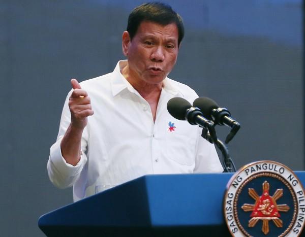 菲律賓總統杜特蒂(Rodrigo Duterte)將從今天(18日)起至21日訪問中國。(資料照,美聯社)