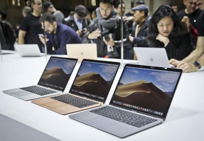 受美中貿易戰影響,代工蘋果產品的和碩聯合科技,傳出下個月會把生產線遷往印尼。(資料照,美聯社)