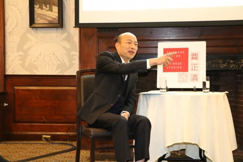 老哈佛人看韓國瑜鬧劇