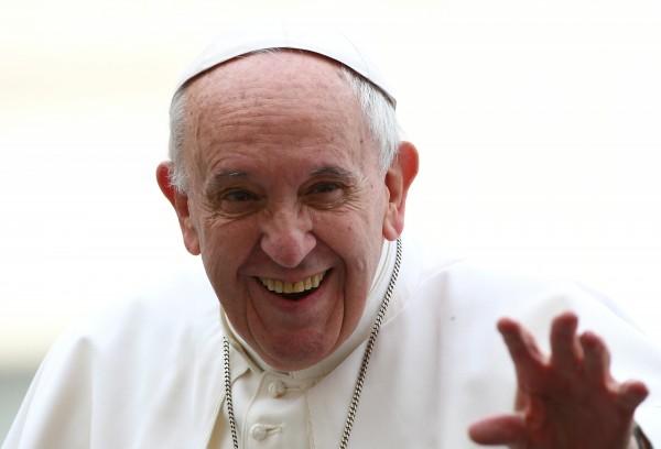 教宗方濟各。(路透)