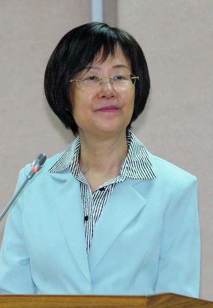 法務部部長羅瑩雪今天表示:「身為佛教徒,我贊成廢死!」(記者王敏為攝)