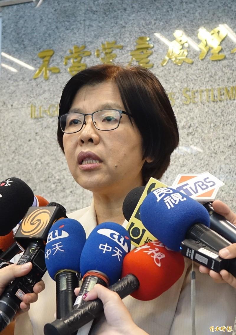 黨產會發言人施錦芳提及,確有與國民黨進行多次協商。(資料照)
