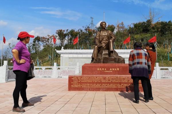 中國國家級貧困縣汝城縣耗費大筆資金推行各種「虛榮」建設,卻未有利潤回報,因此背負高達10億美元(約新台幣300億元)債務。(路透)