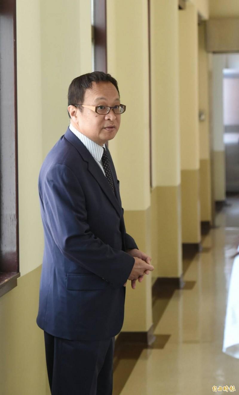 柯承亨表示,汪洋的談話統戰意味強烈,都有相當多的引導作用。(記者劉信德攝)