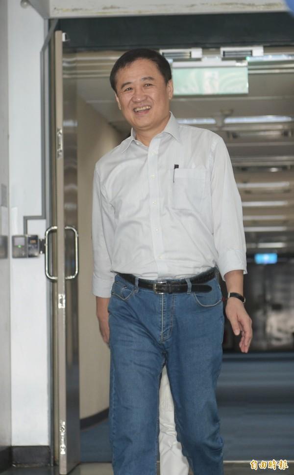 北市副市長陳景峻14日請辭北農董事長。(記者張嘉明攝)