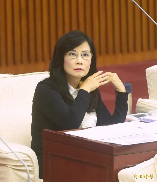 台北市議員秦慧珠今天爆料,中國原本就對今年的雙城論壇意興闌珊,台大日前的濺血事件恐進一步引發上海方停辦明年的論壇。(記者方賓照攝)