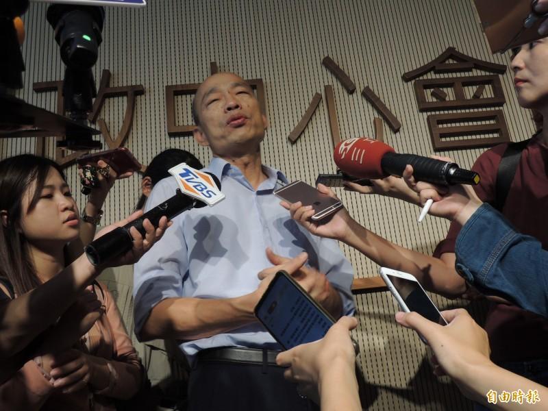 國民黨總統候選人韓國瑜。(資料照)