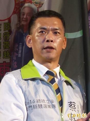 金門縣環保局局長蔡其雍昨晚酒駕被抓,被依公共危險罪嫌移送法辦,面臨依規定記一大過。(資料照)