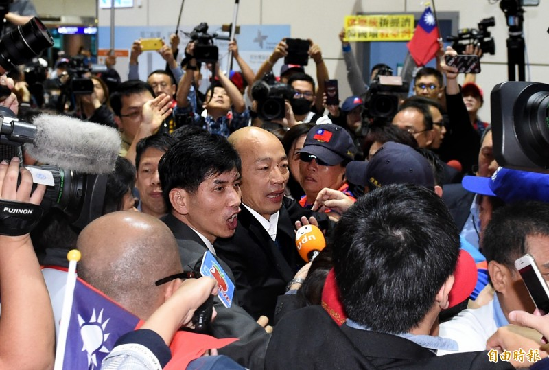 韓國瑜稱台灣沒軍法被打臉 林濁水批:連軍事也是超級草包