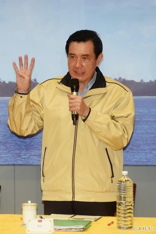 總統馬英九將於八點搭機前往台南關心並視察現場情況。(資料照,記者簡榮豐攝)
