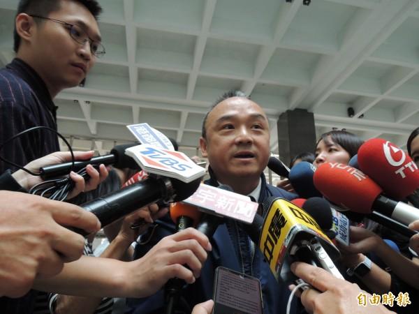 潘恆旭過去曾因在網路上不實批評,被依損毀名譽送辦。(資料照)