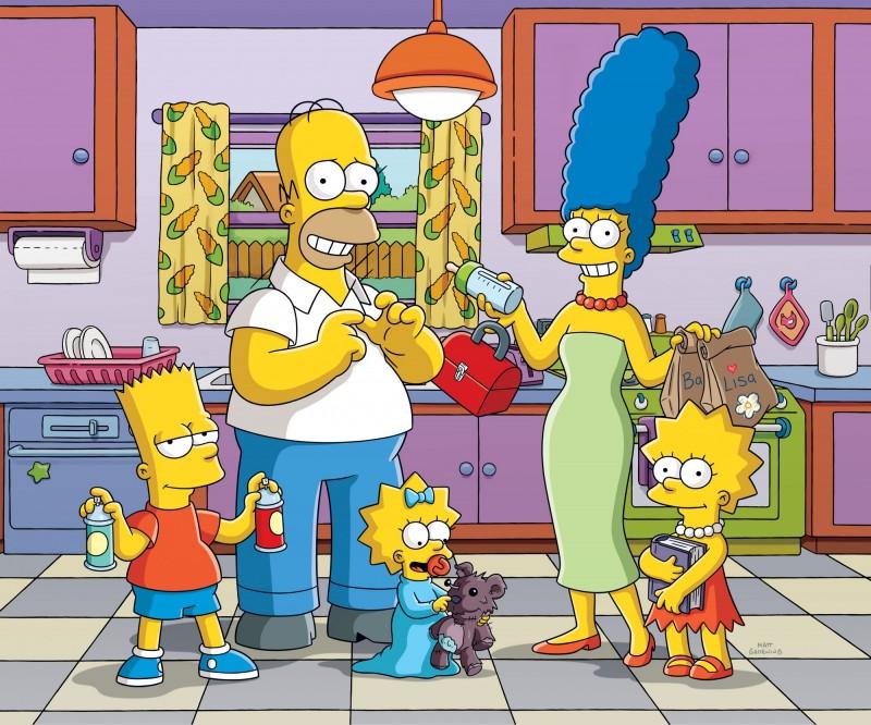 美國知名動畫《辛普森家庭》(The Simpsons)製片麥克孟德爾驚傳離世,享年54歲。(美聯社)