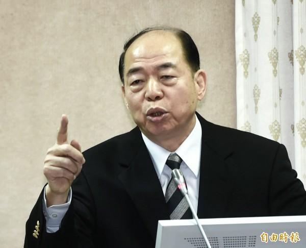 國安局今天表示,楊國強並未表明「卡式台胞證資安有漏洞」。(資料照,記者方賓照攝)
