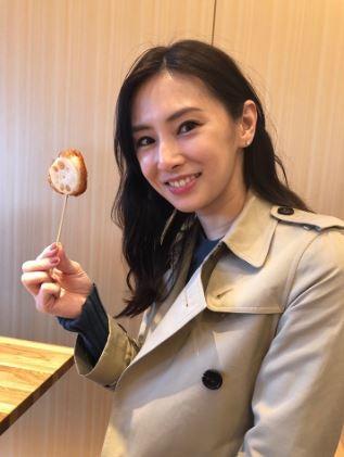 北川景子常在各大美女排行榜名列前茅,這次獲得第三名。(圖擷取自北川景子官方部落格)