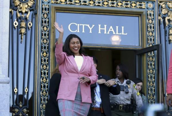 布里德將成為舊金山首為非裔女市長。(美聯社)
