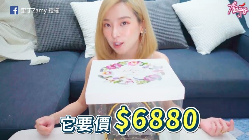 一個要價將近7000元的仿造精品翻糖蛋糕,可能構成侵權問題?(粉專奎丁Zamy 授權)