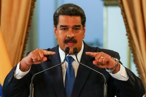 美國總統川普日前公開放話,要求委國軍方叛離現任總統馬杜羅(見圖)。(資料照,歐新社)