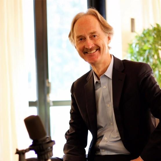 挪威外交官裴凱儒(Geir Pedersen)將接任聯合國秘書長敘利亞問題特使。(擷自挪威官方推特)
