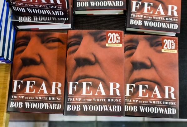 揭發水門案醜聞的記者伍華德(Bob Woodward)最近出版新書,內容提到川普曾質疑,美國為何要保護台灣。(歐新社)