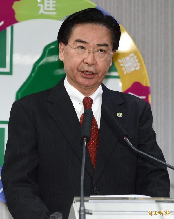 民進黨秘書長吳釗燮。(資料照,記者羅沛德攝)