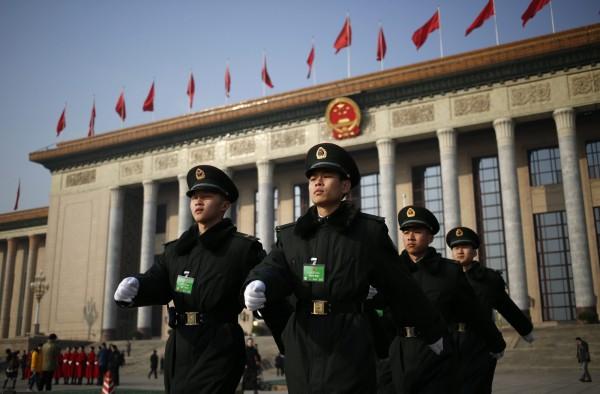中國警方在國際婦女節前大動作,逮捕多名女權人士。(資料照,歐新社)