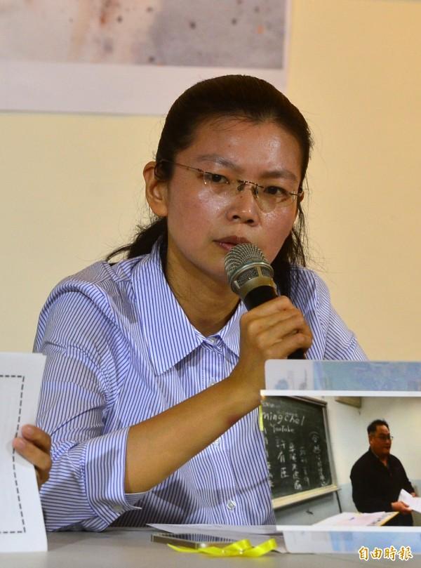 李凈瑜今發聲明指出,李俊敏曾告訴她,中國國安單位這次有點「走鐘」,廣東國防部門因有「業績壓力」而暴衝「找錯人了」。(資料照,記者王藝菘攝)