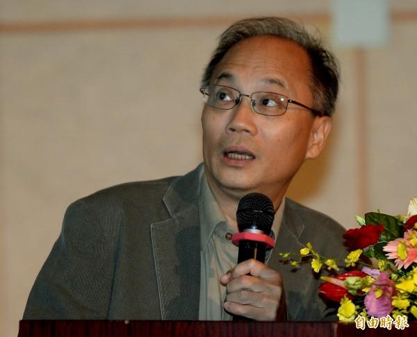 台大歷史系退休教授吳密察。(資料照,記者林正堃攝)