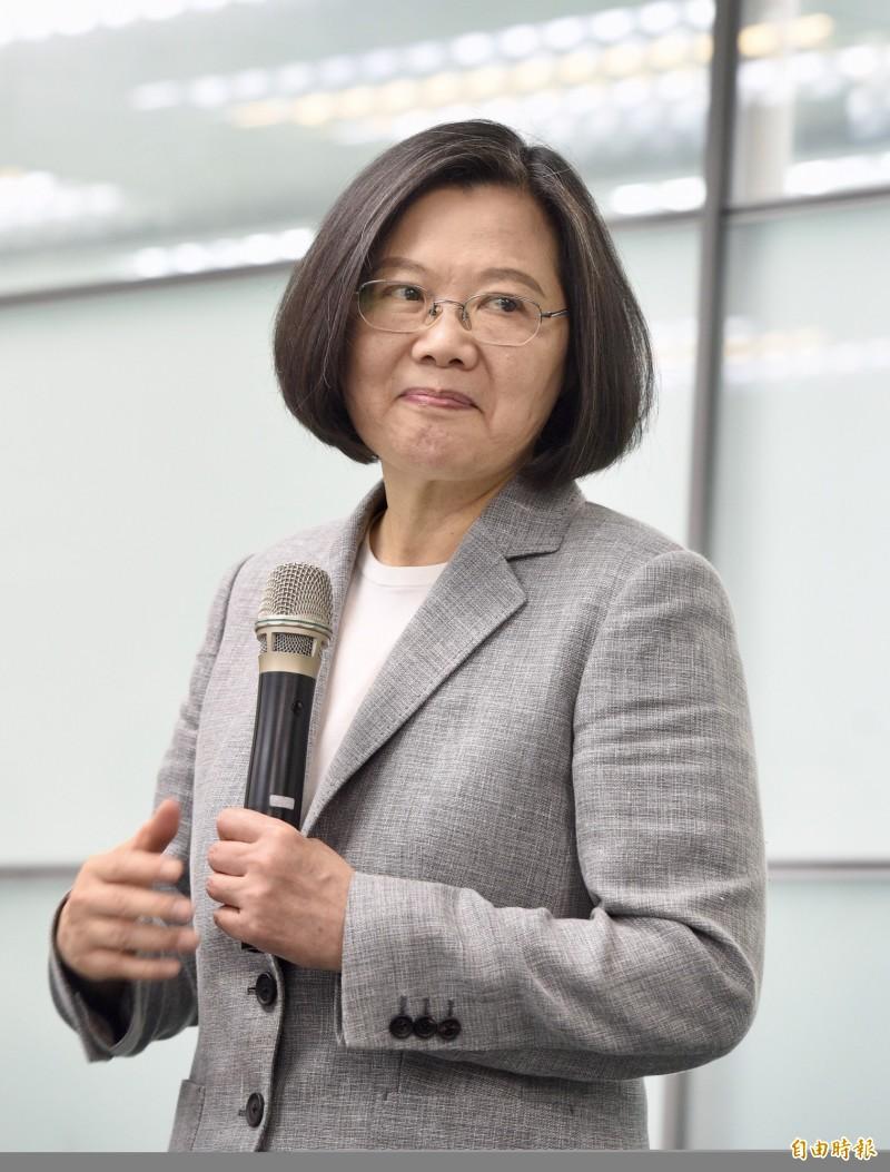 對於中國近日在國際上對台灣的打壓行為,目前正在帛琉進行國是訪問的蔡英文提出2點簡潔回應。(資料照)