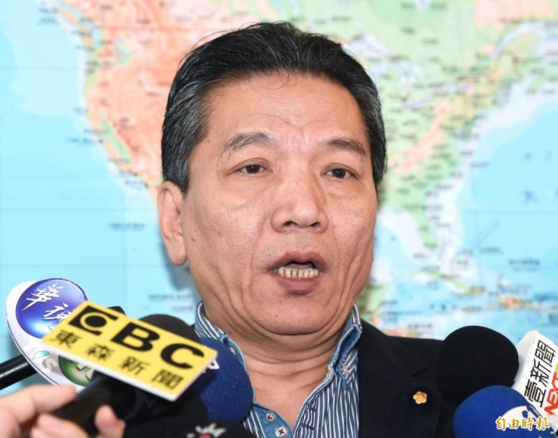 親民黨立委李鴻鈞接任親民黨秘書長。(資料照,記者廖振輝攝)
