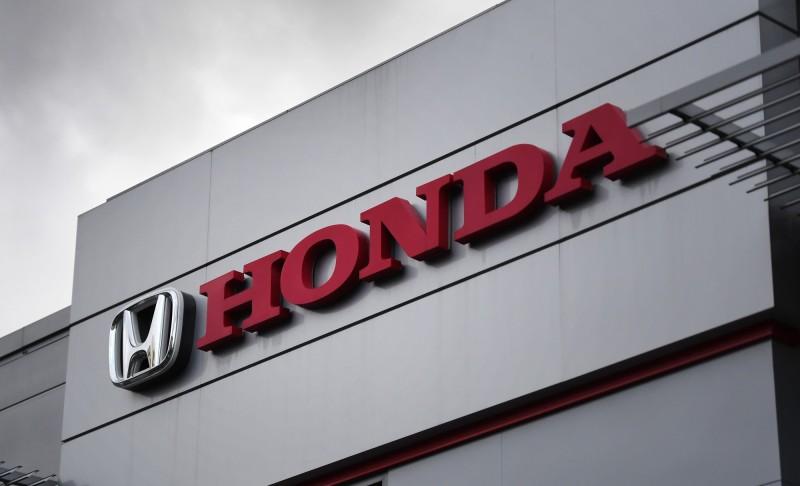 由於受到高田安全氣囊充氣機的影響,本田汽車宣布將召回在北美270萬輛汽車,其他國家的召回量尚未確認。(歐新社)
