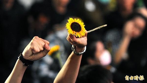 柯文哲盼大家不要忘記太陽花精神。(資料照)