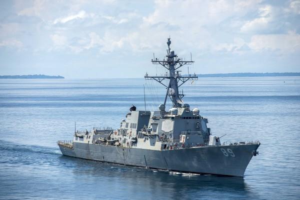 美國海軍DDG-89軍艦。(擷取自美國海軍官網)