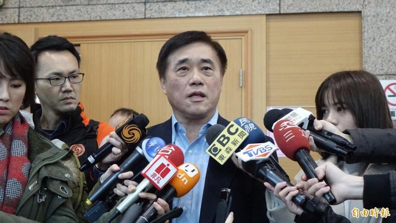 國民黨主席候選人郝龍斌。(資料照)