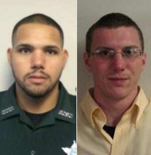 美國佛羅里達州警長拉米雷斯(Noel Ramirez)和副警長林賽(Taylor Lindsey),在一間中國餐廳內遭歹徒射殺身亡。(圖擷自Gilchrist County Sheriff's Office臉書)