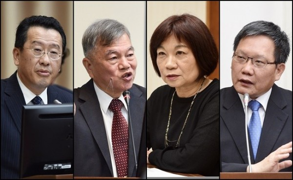 內閣改組  財政部長、金管會主委、主計長等均留任