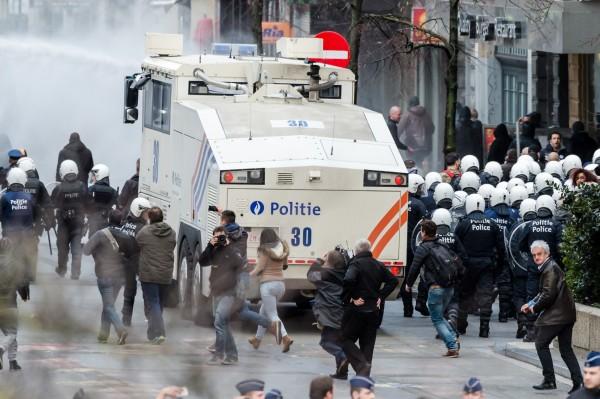 比利時首相米歇爾強烈譴責這些干擾,痛批這是極不恰當的行為。(美聯社)