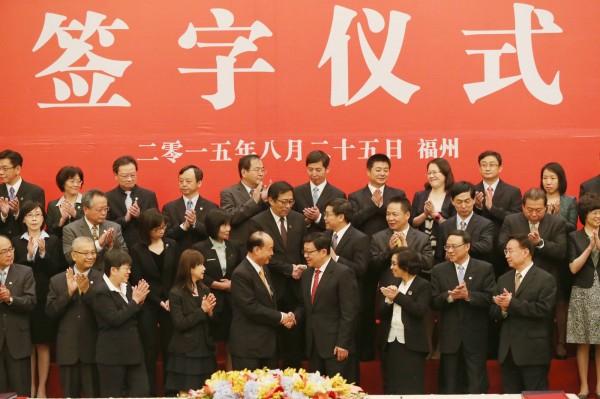 25日下午,兩岸兩會完成《兩岸租稅協議》簽署。經濟民主連合表示,台灣支付的薪資會被中國視為「逃漏稅」,且國稅局貿然將資料交給中國,將使台灣勞工陷入險境。(中央社)