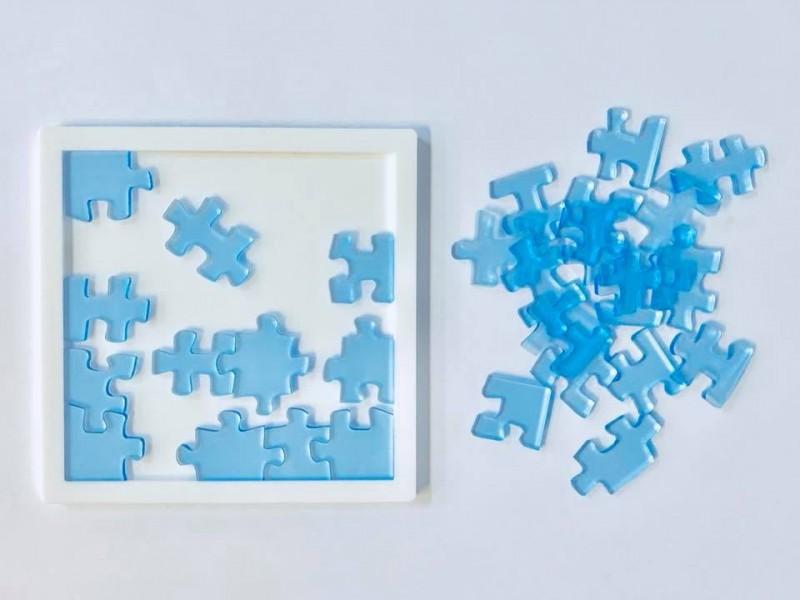 「Jigsaw 29」拼圖只有29塊,看似簡單,卻得花上好幾個小時才能完成。(圖擷取自淺香遊臉書)