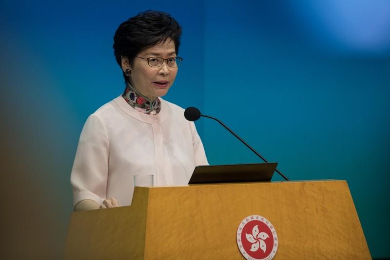 美國國會及行政當局中國委員會(CECC)23日向香港特首林鄭月娥發出國會議員聯名抗議信,要求立即撤回「逃犯條例草案」立法修訂。(歐新社資料照)