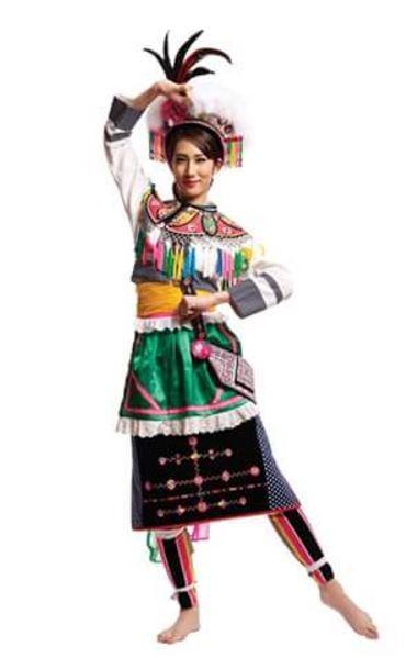 此比賽也能穿著台灣傳統服飾表現台灣特色。(圖擷自Miss Tourism Queen of the Year International臉書)